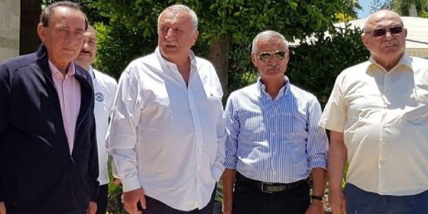 Alaattin Çakıcı, Mehmet Ağar, Engin Alan ve Korkut Eken bir araya geldi!
