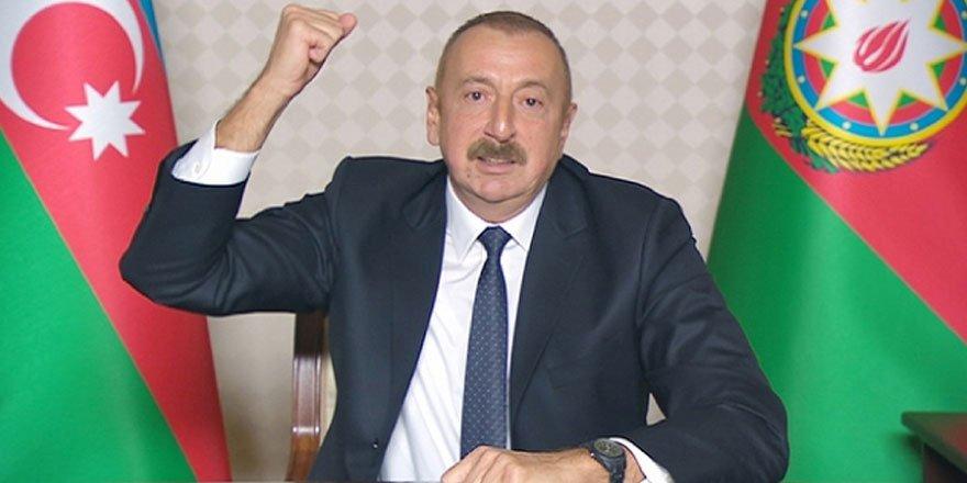 Azerbaycan Cumhurbaşkanı Aliyev ulusa seslendi! Zengilan kenti işgalden kurtuldu