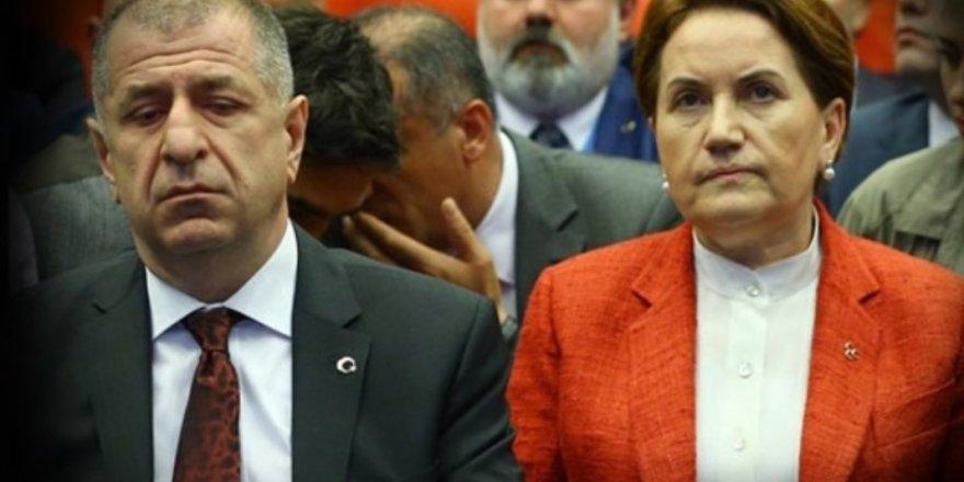 İyi Parti'de kriz büyüyor! Özdağ Akşener'e cevap verdi!