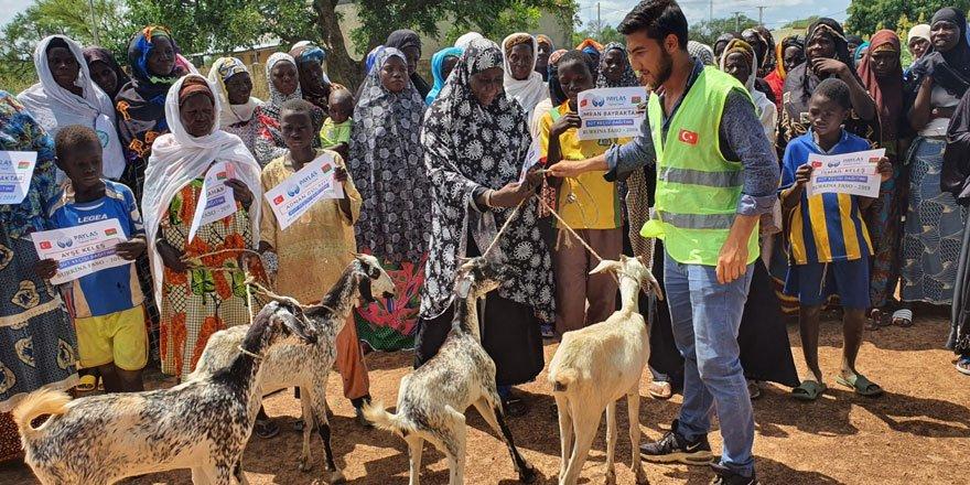 Paylaş'tan Burkina Faso' da süt keçisi dağıtımı!