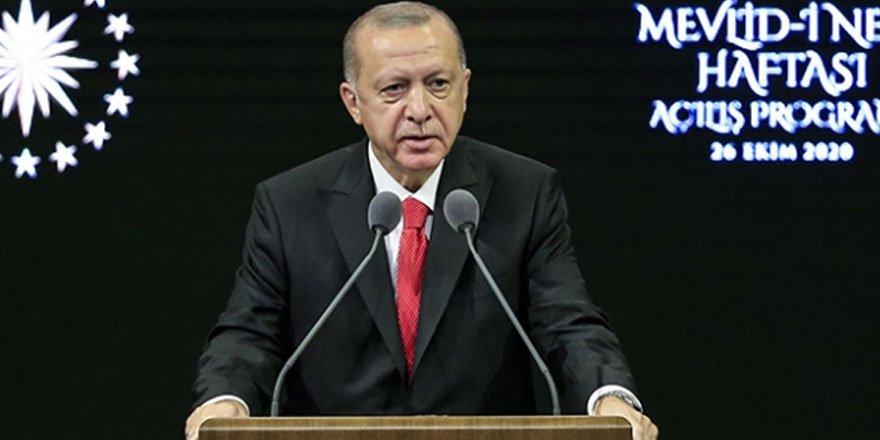 Cumhurbaşkanı Erdoğan: Milletime sesleniyorum, Fransız mallarını asla satın almayın