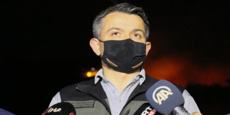 Bakan Pakdemirli: Bugün ülkemizde 17 yangınla mücadele edildi