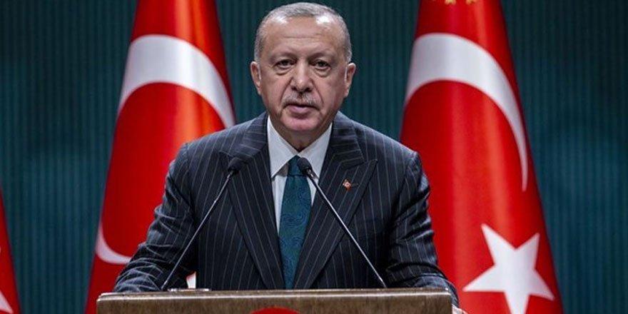 Cumhurbaşkanı Erdoğan'dan 29 Ekim mesajı