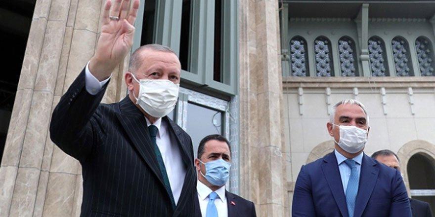 Cumhurbaşkanı Erdoğan Taksim Cami ve AKM açılışı için tarih verdi