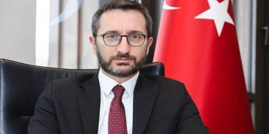 """İletişim Başkanı Altun'dan depremle ilgili """"geçmiş olsun"""" mesajı"""