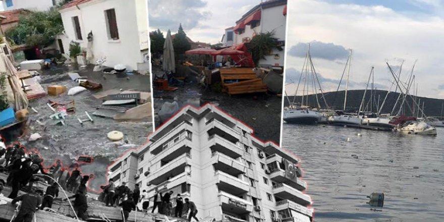 İzmir depreminde yürek yakan olay!