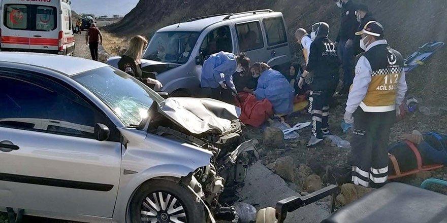 Elazığ'da trafik kazası meydana geldi: 1 ölü