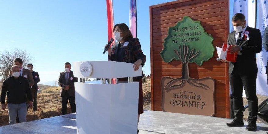 Gaziantep Büyükşehir Belediyesi 30 bin öğretmen adına 30 bin fidan dikti