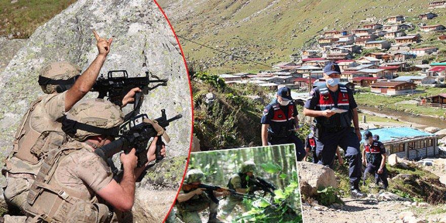 Trabzon'da yaylada alarm! Komandolar operasyonları arttırdı