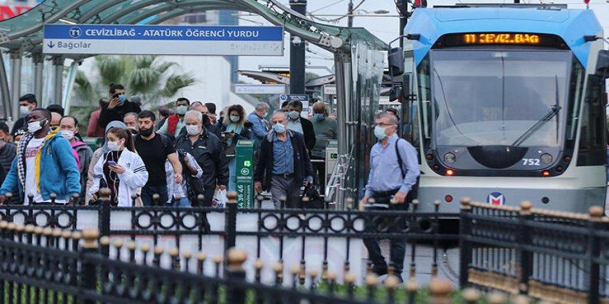 İstanbul'da Ekim ayında toplu ulaşımda yüzde 8,3'lük artış