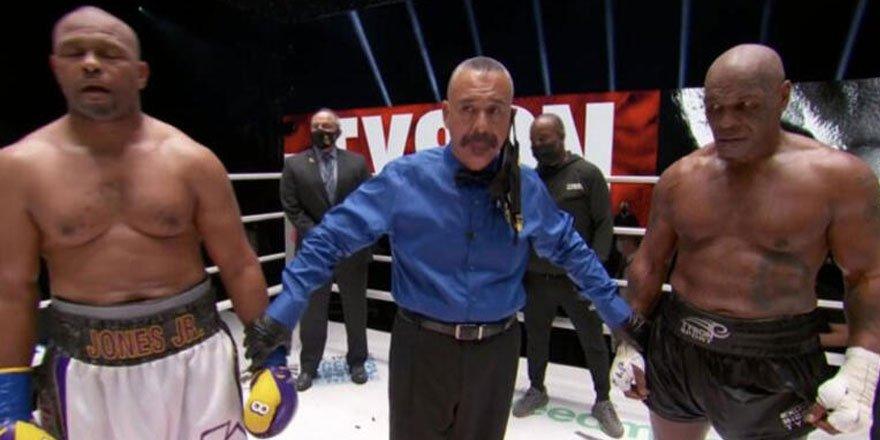 Mike Tyson gösteri maçıyla ringlere döndü!