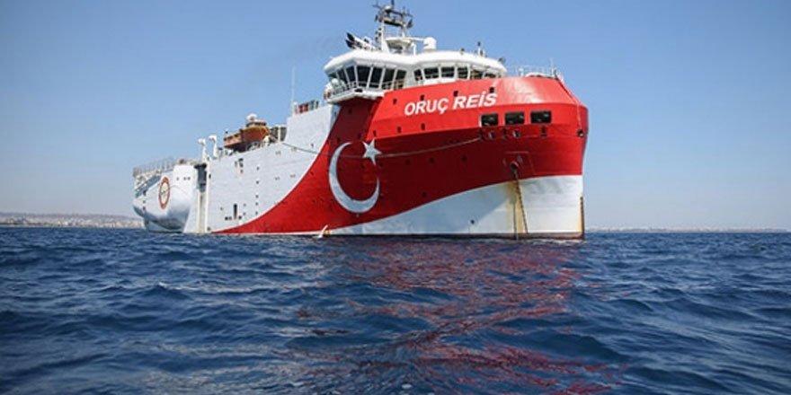 Oruç Reis, Antalya Limanı'na döndü!