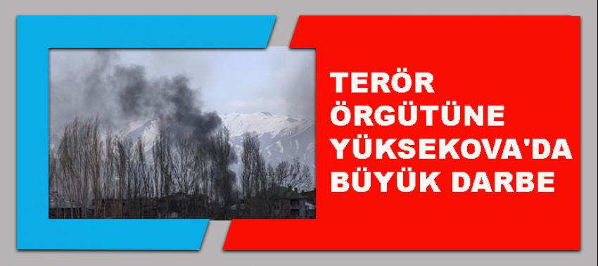 Terör örgütüne PKK'ya Yüksekova'da büyük darbe
