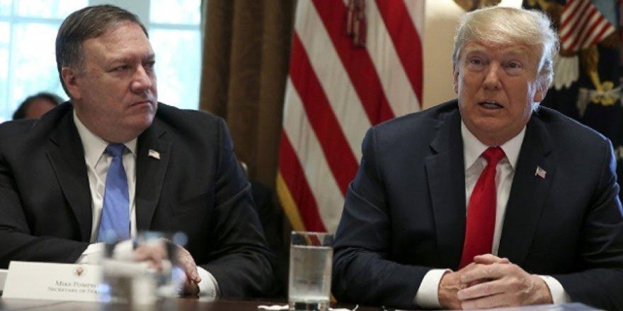Trump'tan Pompeo'ya: Savaş çıkarmadan İran'a baskıyı artır