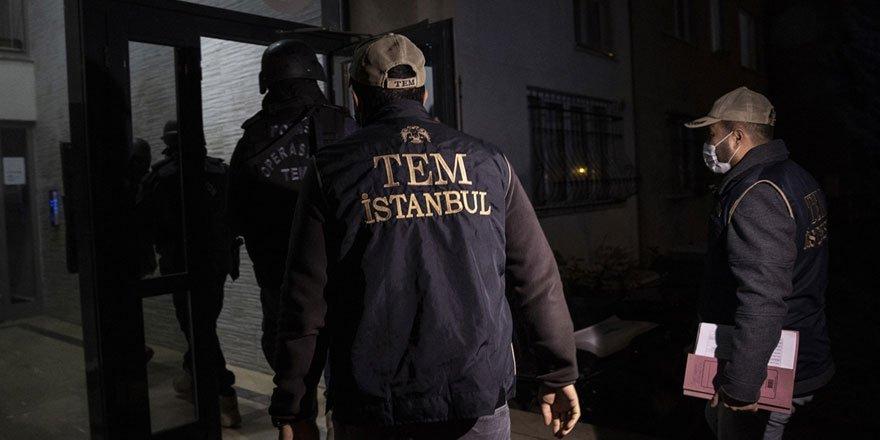 İstanbul'da terör örgütü DAEŞ'e operasyon