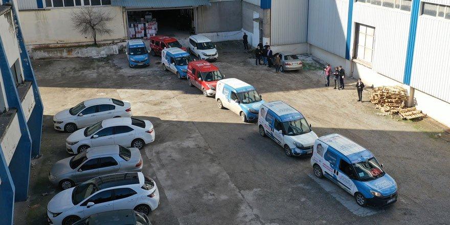 Büyükşehir esnafa destek halka şifa paketlerinin dağıtımına başladı!