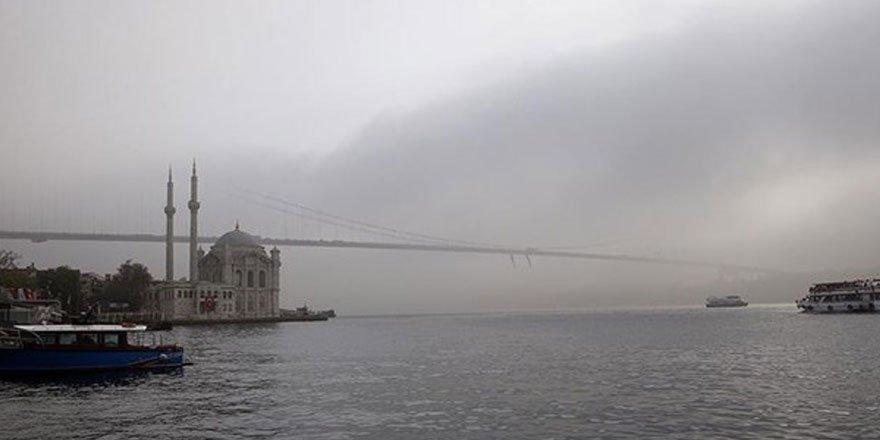 İstanbul Boğazı'nda seferler iptal