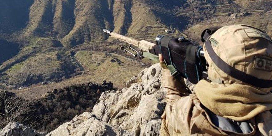 TSK ve MİT'ten ortak operasyon: 8 terörist etkisiz hale getirildi