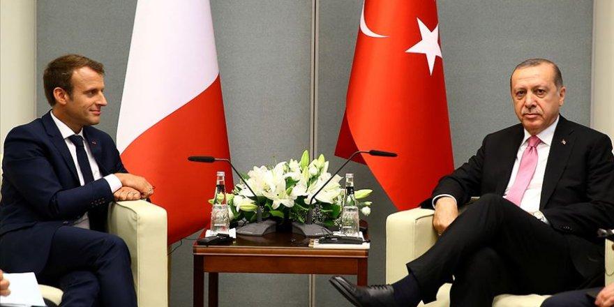 Emmanuel Macron Cumhurbaşkanı Recep Tayyip Erdoğan'a mektup gönderdi