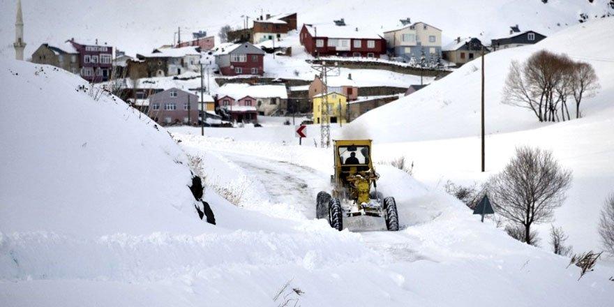 Doğu'da 4 il için yoğun kar ve çığ uyarısı!