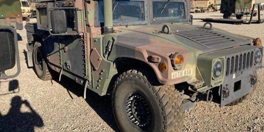 ABD'de askeri araç çalındı! FBI sosyal medyadan yardım istedi
