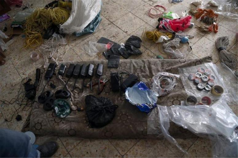 PKK'nın bomba imalathanesine baskın!