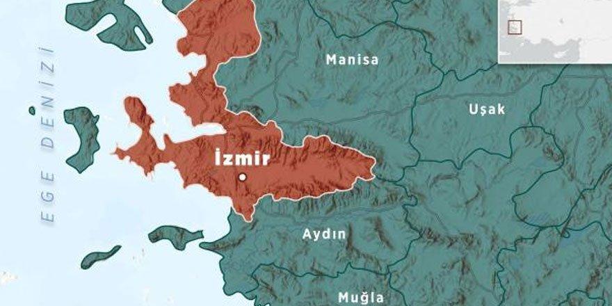 İzmir Seferihisar açıklarında art arda deprem!