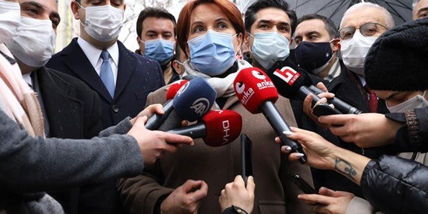 İYİ Parti Genel Başkanı Akşener: Seçim barajı yüzde 5 olsun!