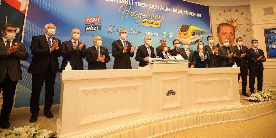 Yerli ve milli trenler için 47 milyon EURO'luk imza atıldı!