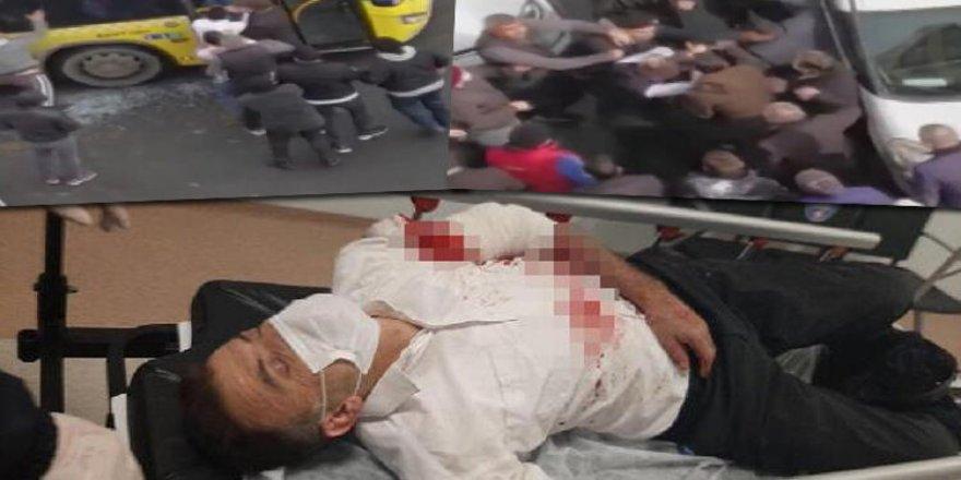 İstanbul'da İETT şoförüne saldırı! Ortalık karıştı