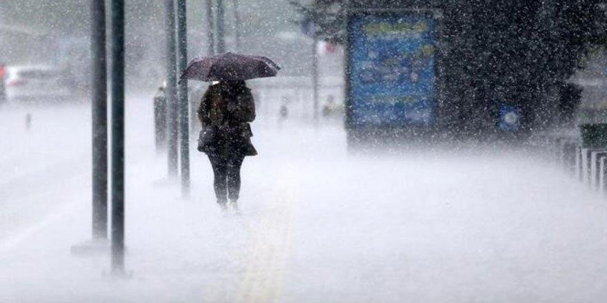 Meteorolojiden Marmara ve Batı Akdeniz için sağanak uyarısı!