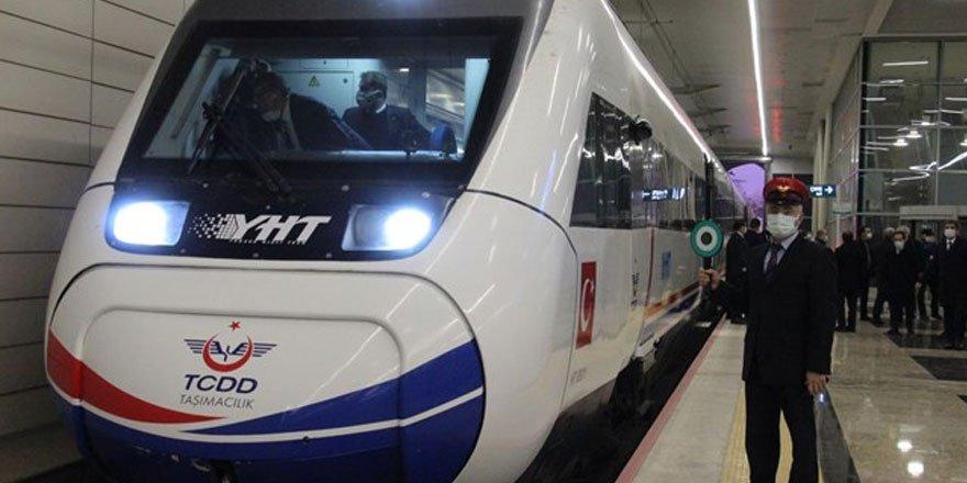Ankara-Sivas YHT Hattı Projesi'nde performans testleri başladı