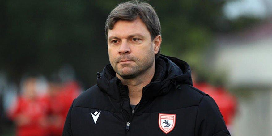 Samsunspor Teknik Direktörü Sağlam: Rakiplerimize puan vermeden geçmemiz gerekiyor!