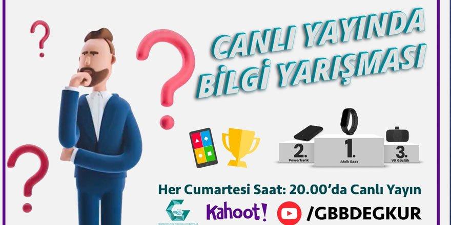 Büyükşehir'den genel kültür temalı online bilgi yarışması!