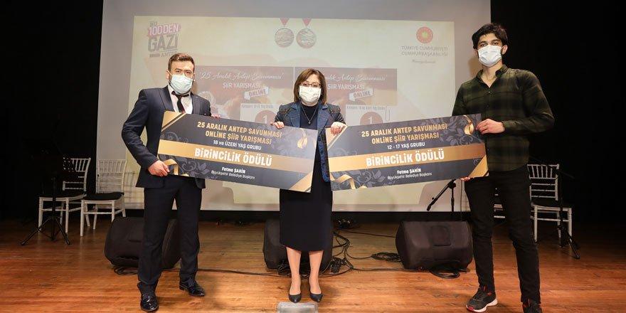 Antep savunması konulu şiir, hikaye ve ses yarışması ödülleri verildi!