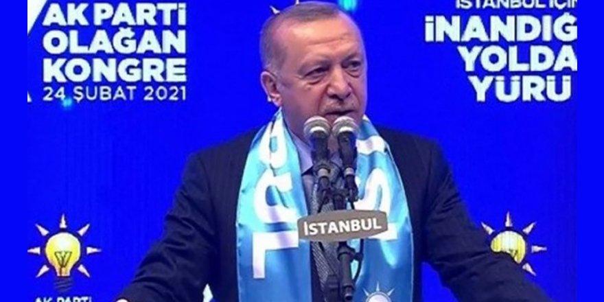 Erdoğan, Ak Parti İstanbul 7. Olağan İl Kongresi'nde Konuştu