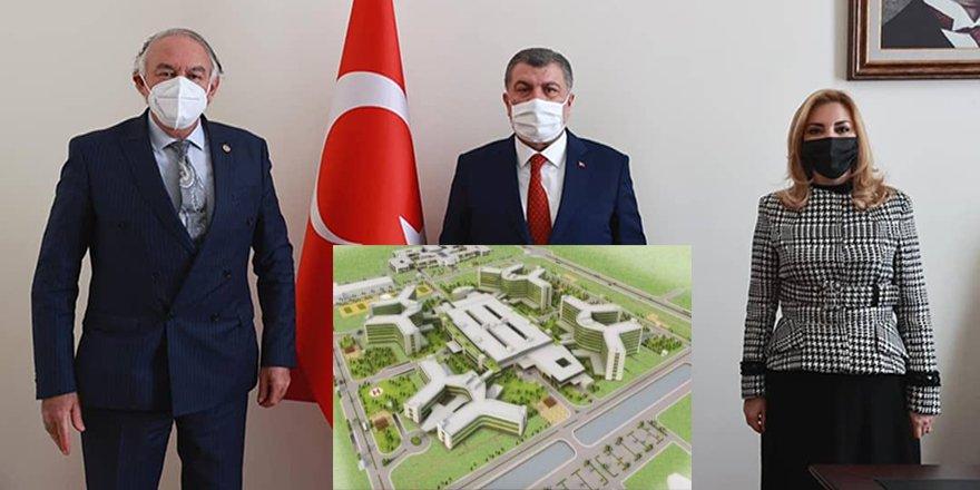 AK Parti Muğla Milletvekilleri Gökcan ve Demir'den Fethiye'ye 450 yataklı hastane müjdesi