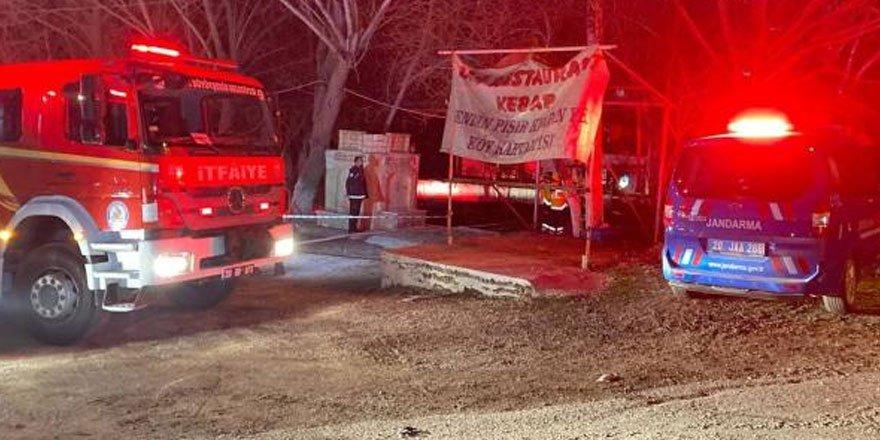 Denizli'de restoranda çıkan yangında 3 kişi vefat etti!