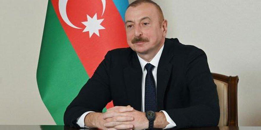 Aliyev: Ermenistan'da buhranlı vaziyet sürüyor