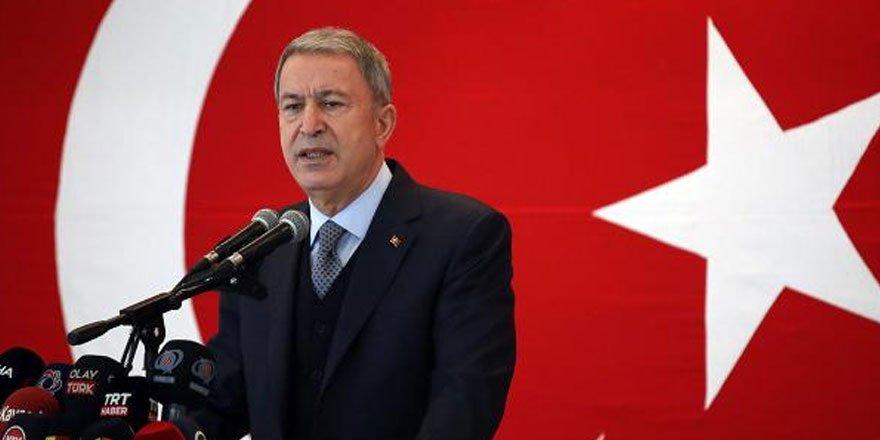 Milli Savunma Bakanı Akar'dan AB'ye Gara tepkisi! İkiyüzlülüğü bırakmalı