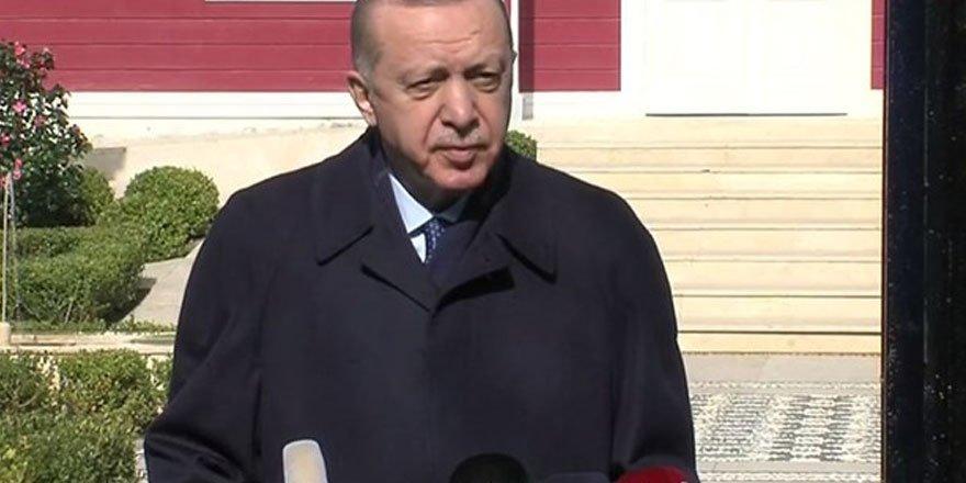 Cumhurbaşkanı Erdoğan'dan kısıtlama sorusuna yanıt
