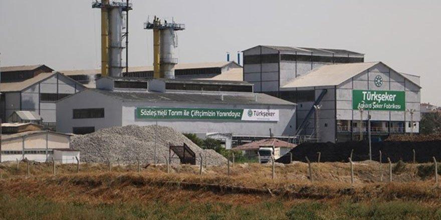 Ankara Şeker Fabrikası'ndan 77 bin 500 ton şekerle üretim rekoru