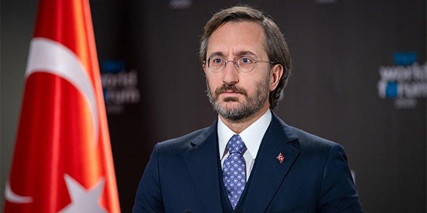 Cumhurbaşkanlığı İletişim Başkanı Altun'dan, CHP yönetimine özür çağrısı
