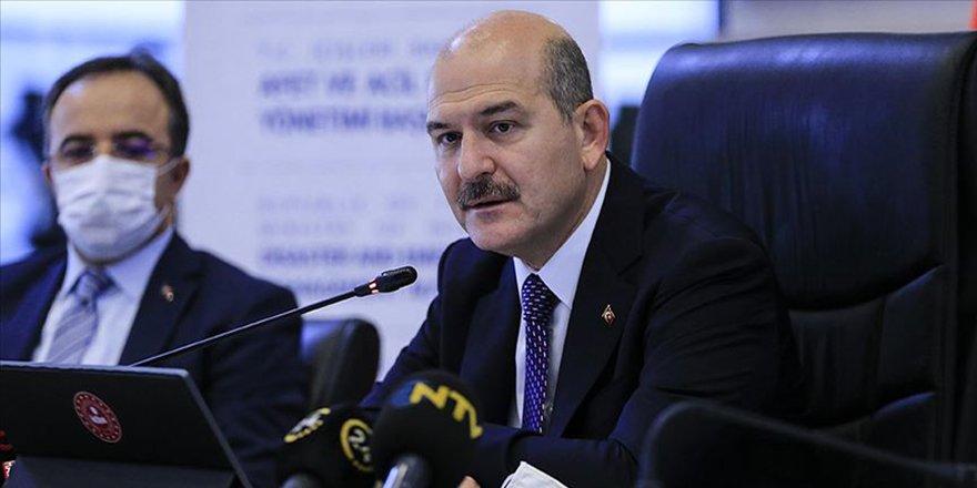 İçişleri Bakanı Soylu, İstanbul İl Afet Risk Azaltma Planı Hazırlık Toplantısı'nda konuştu