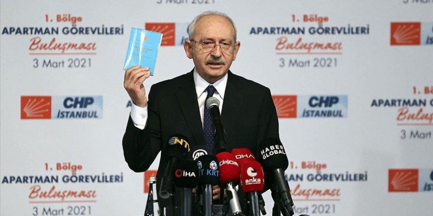 Apartman Görevlileri ile bir araya gelen CHP Genel Başkanı Kılıçdaroğlu: Demokrasilerde örgütlenmek önemlidir
