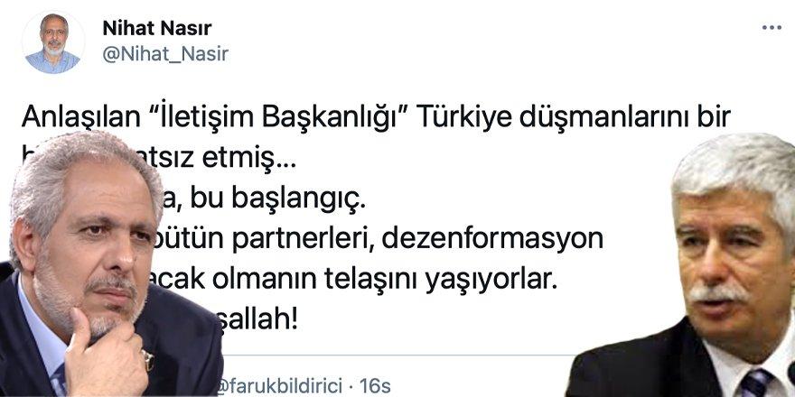 Gazeteci Nihat Nasır Faruk Bildirici'nin OMBUDSMANLIĞINI tek cevapla bitirdi