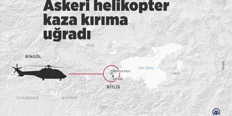 Helikopter kazasında şehit olan 11 askerimizin isimleri belli oldu