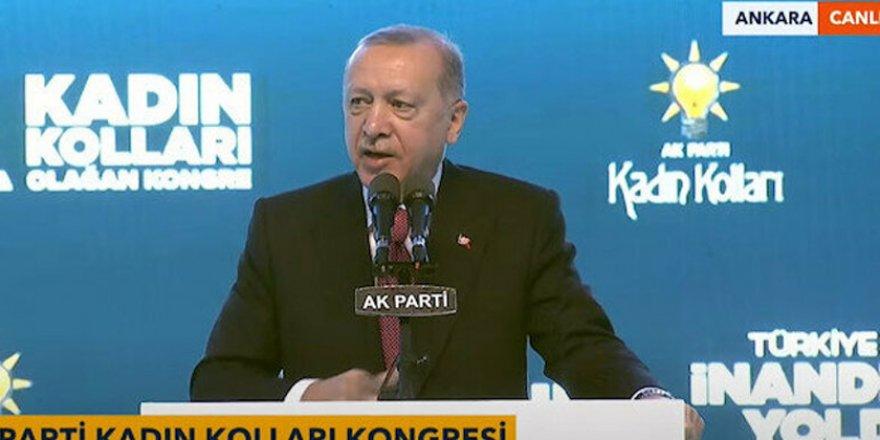 Erdoğan, AK Parti Kadın Kollarıy 6. Olağan Kongresi'nde konuştu: (4)