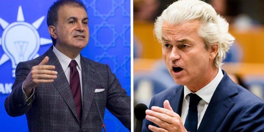 AK Parti Sözcüsü Çelik'ten Hollandalı politikacı Geert Wilders'in ramazan ayıyla ilgili sözlerine tepki