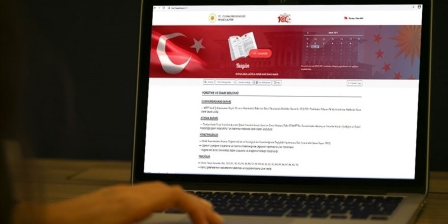 Kamudaki çalışma saatlerine ilişkin genelge Resmi Gazete'de yayımlandı